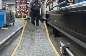 SlipBusters Oil Absorbent Industrial Floor Mat