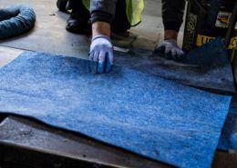 SorbIts® Blue Natural Reusable Oil Absorbent Pad