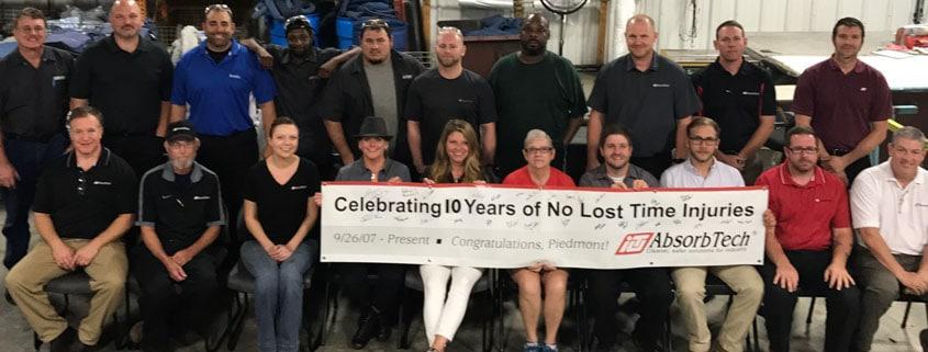piedmont safety milestone